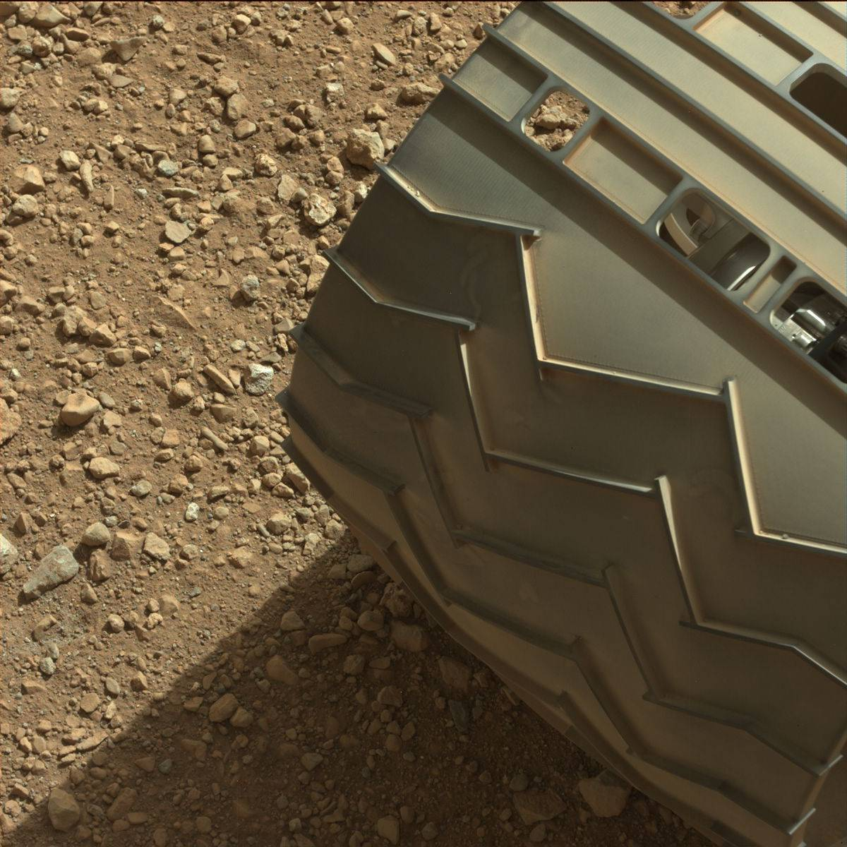 This image was taken by Mastcam: Left (MAST_LEFT) onboard NASA