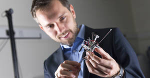 Mirko Kovac and his 3D Printing Drone