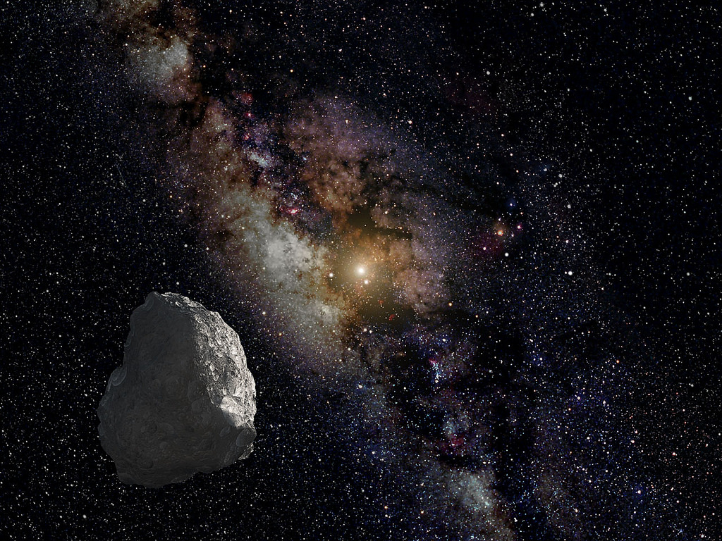 Artists Impression of a Kuiper Belt Object