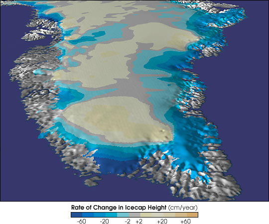 Greenland Ice Sheet changes