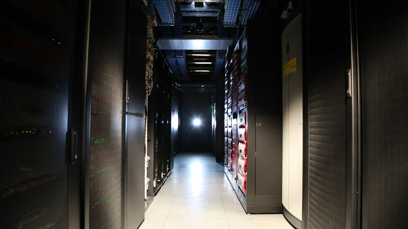 Data Room at the Sanger Institute
