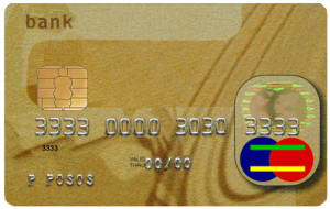 Chip and PIN credit card