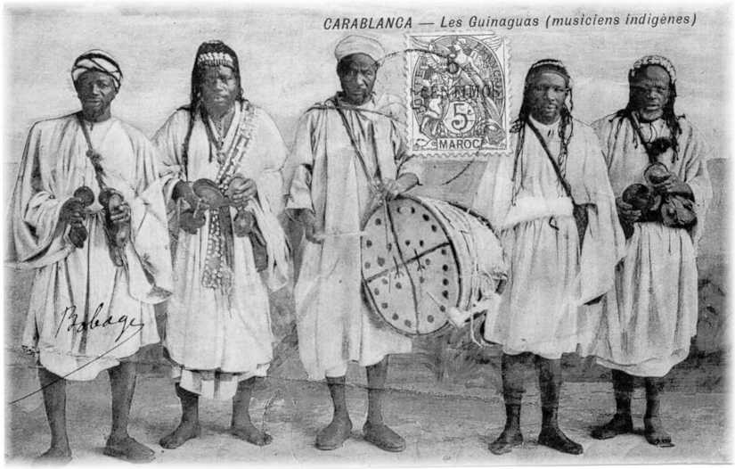 Ancient Gnawa Musicians