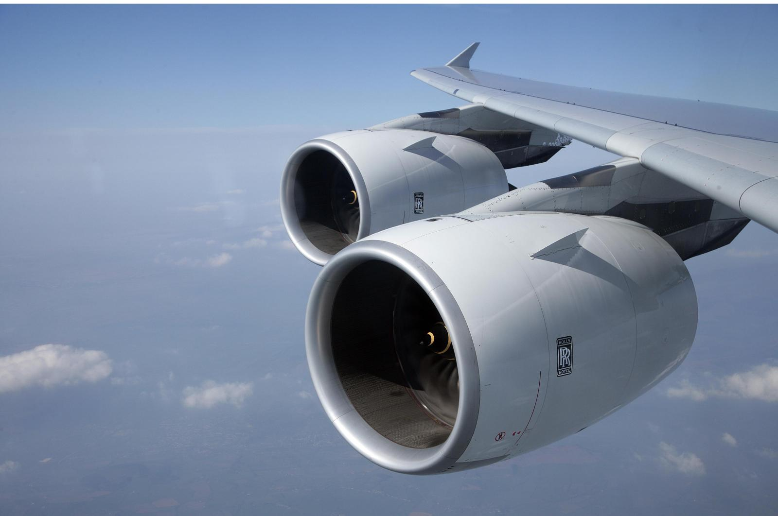The Trent 900 powers the Airbus A380