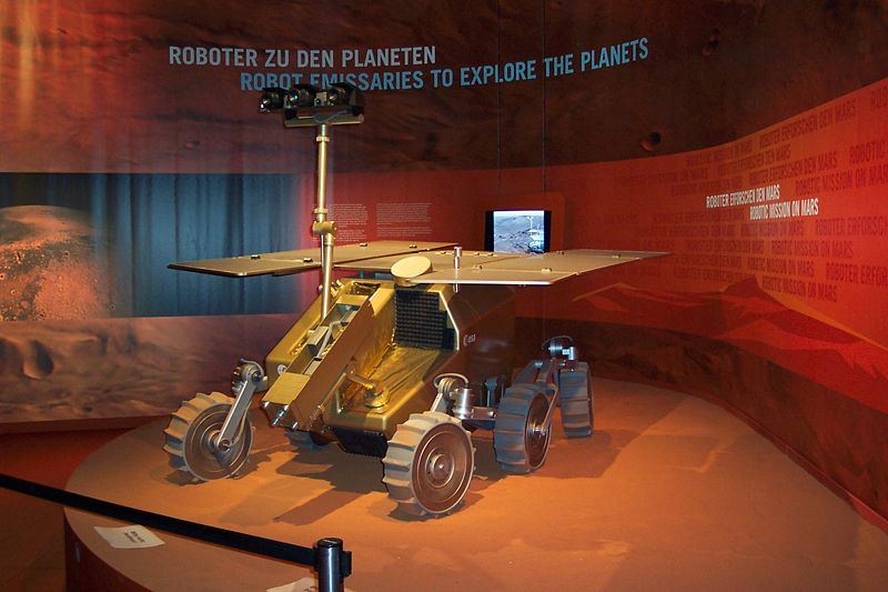 ExoMars model at ILA 2006 (Berlin)
