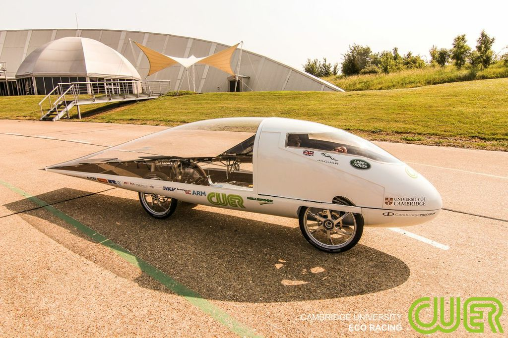 Eco racer car