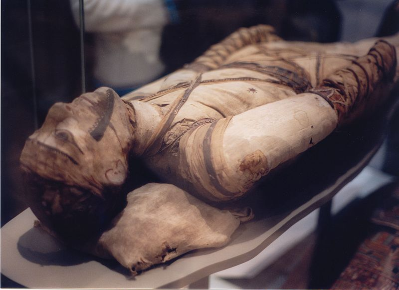 Tubercular decay of Egyptian Mummy