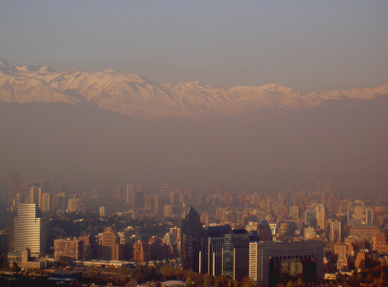 Smog in Chile