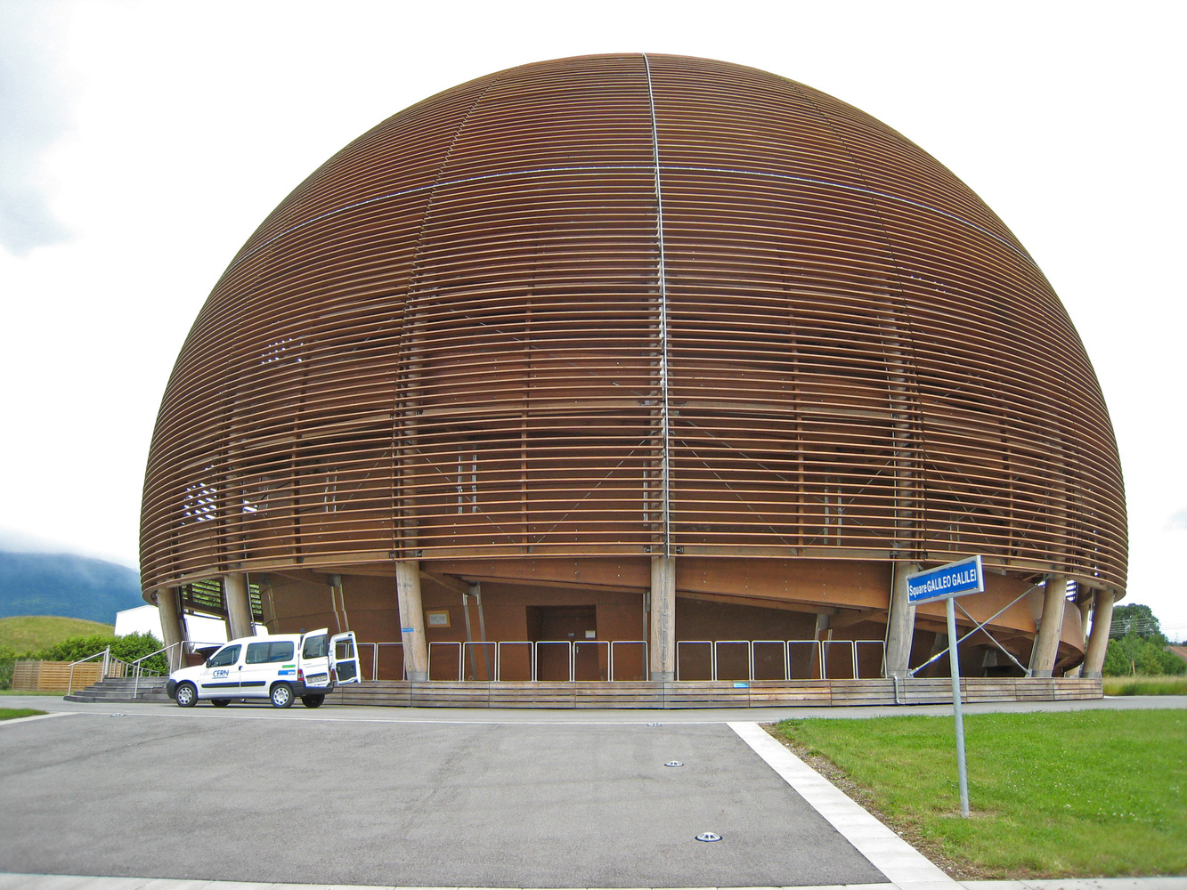 Globe of Science and Innovation at CERN.