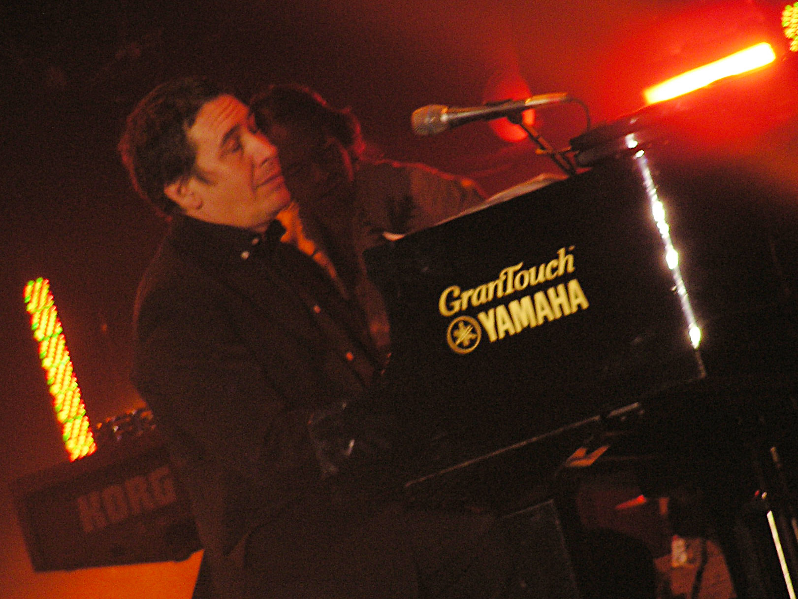 Jools Holland at the Tsunami Relief concert