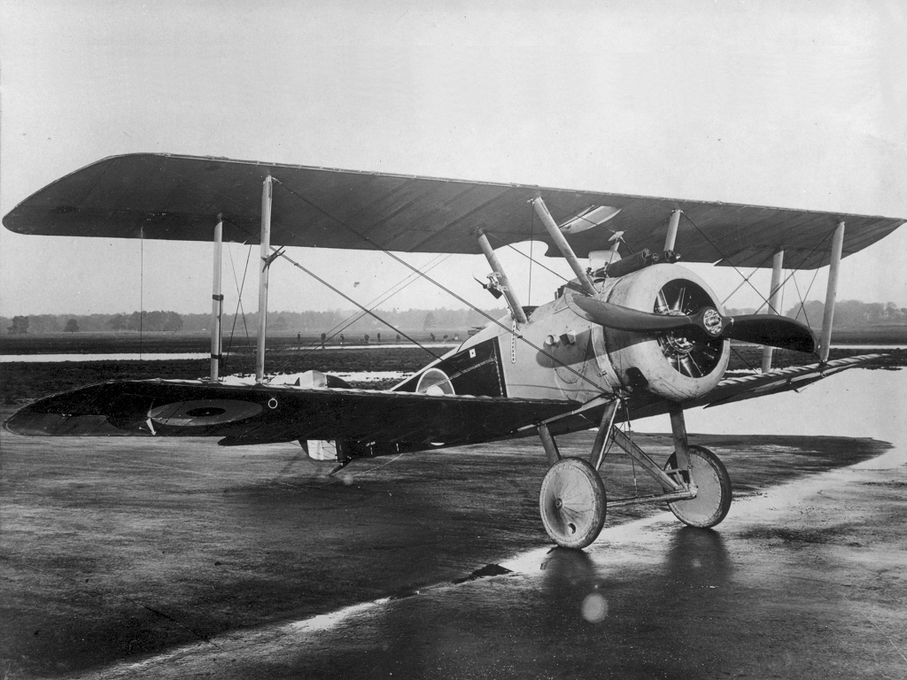 Royal Flying Corps Sopwith Camel in 1914-1916 period.