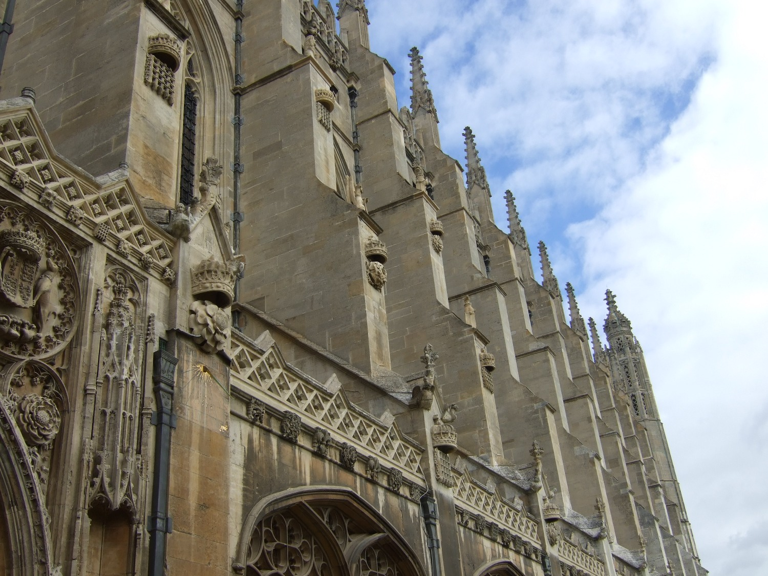 Buttresses on Kings College Chapel