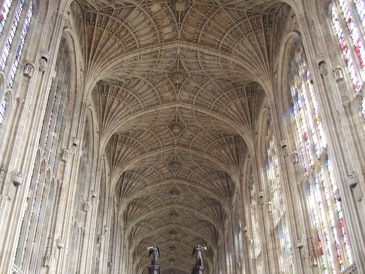 Roof of Kings College Chapel