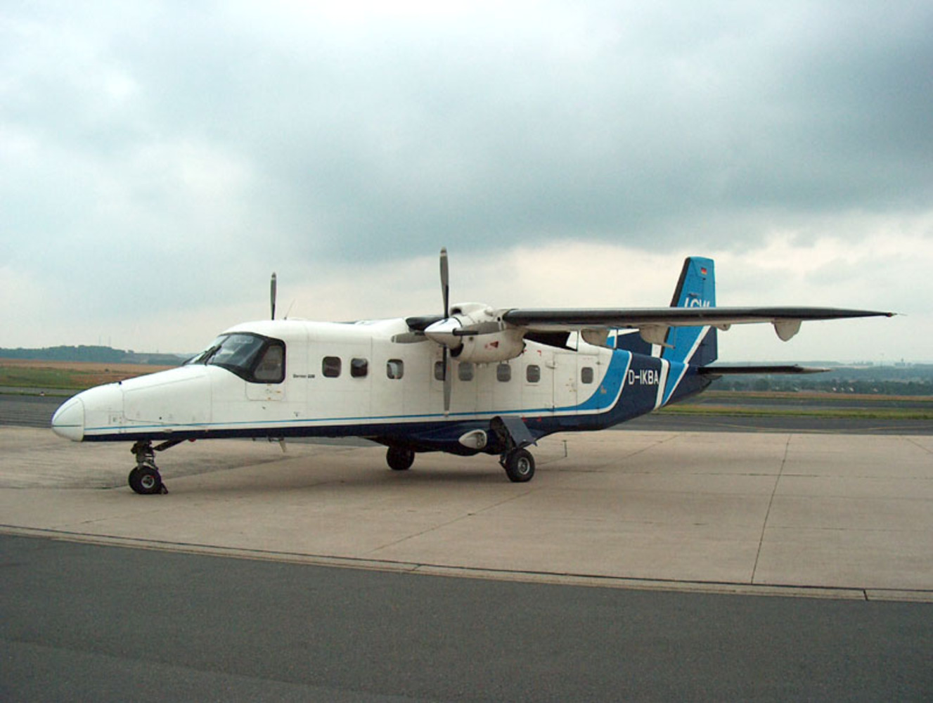 Dornier Do 228-200 twin-turboprop aircraft
