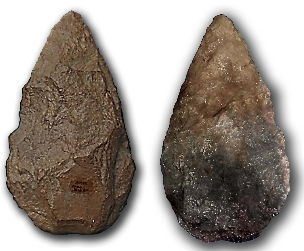 Flint arrow head