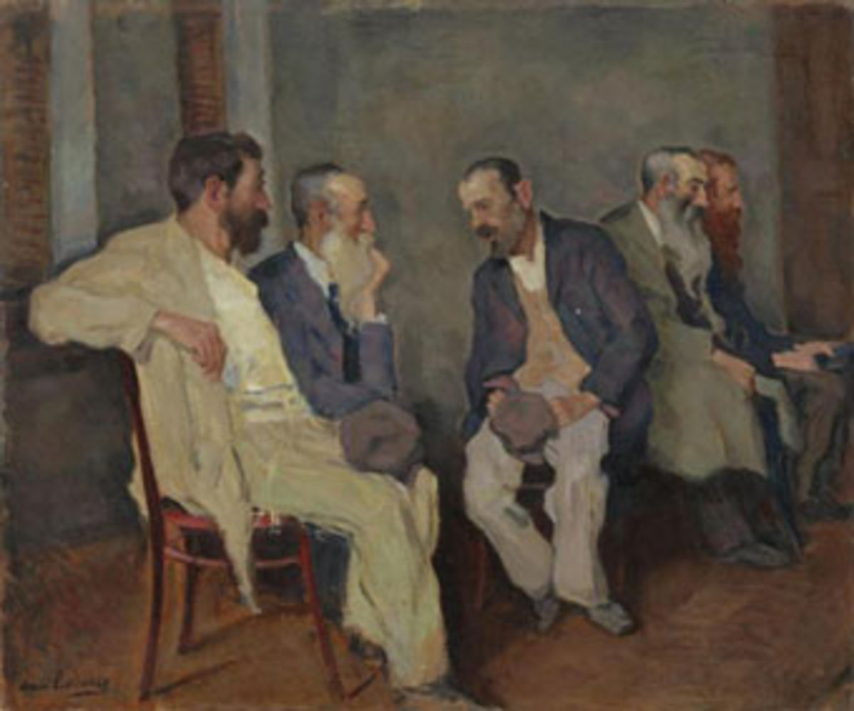 Arnold Lakhovsky - The Conversation