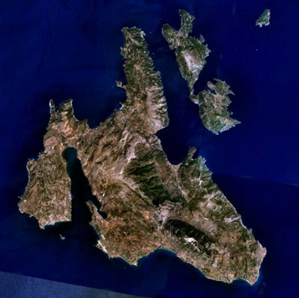 The islands of Kefallonia and Ithaki, Greece.