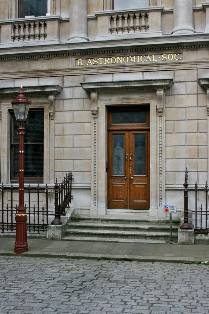 The Royal Astronomical Society, Burlington House, London
