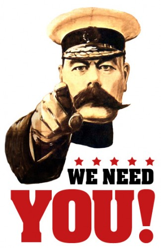 We need you lord kitchener