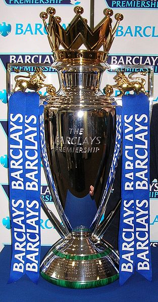 The Premiership trophy