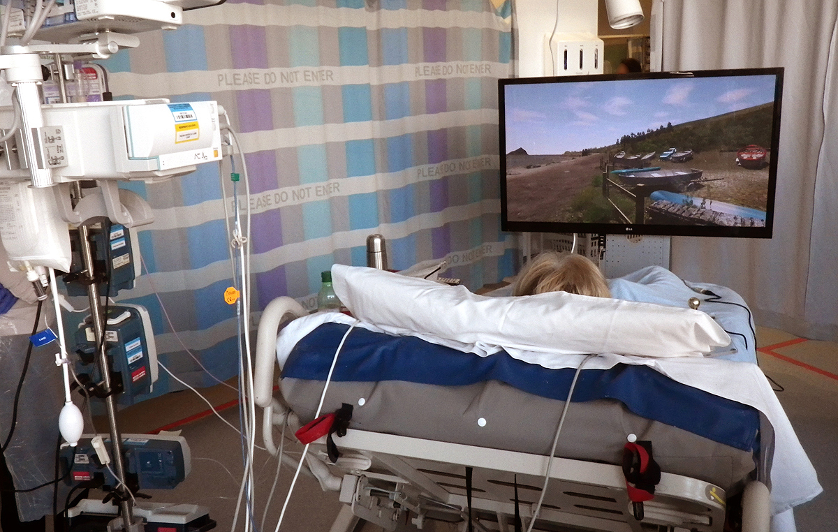 Virtual Wembery in Intensive Care Unit