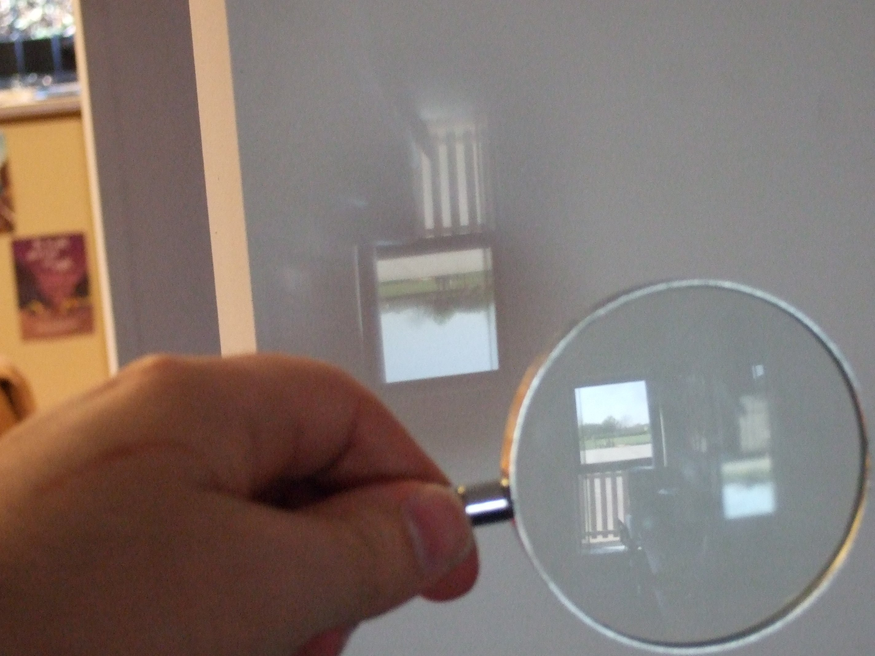 Image from a Magnifying glass