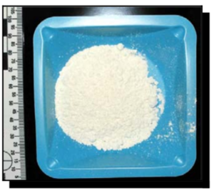Confiscated sample of mephedrone