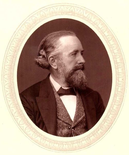 Sir Edward Frankland (1825-1899), English chemist.