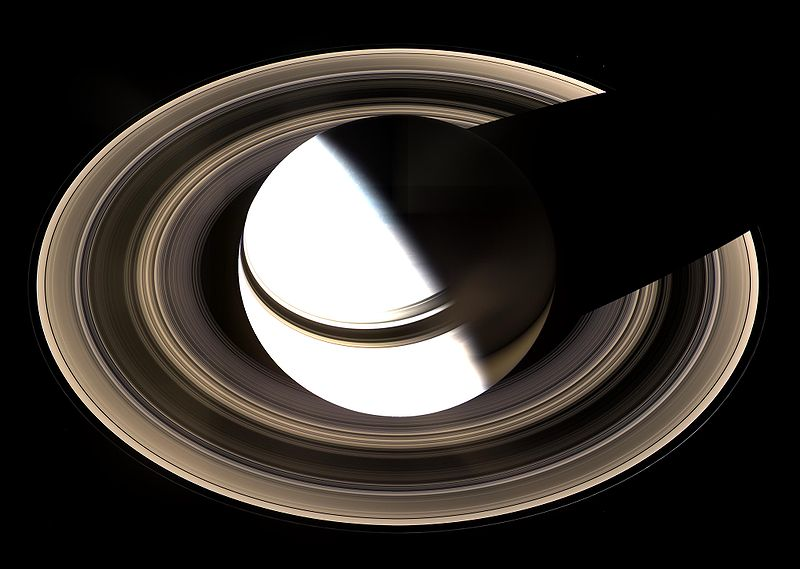 Saturn from Cassini Orbiter (2007-01-19)