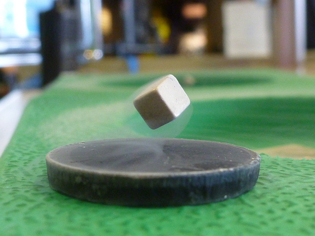 Levitating Superconductor
