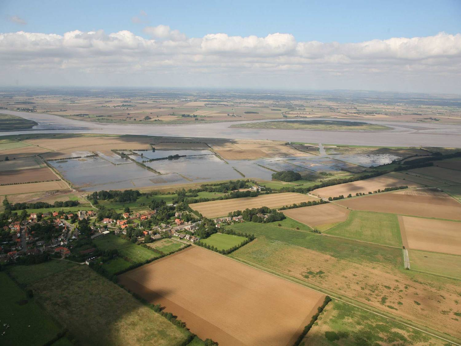 Alkborough from the Air