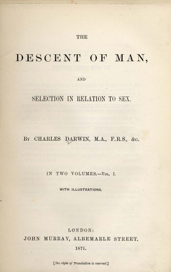 Cover page of Charles Darwin