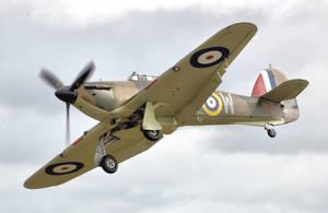 Hurricane Mk I (R4118), which fought in the Battle of Britain