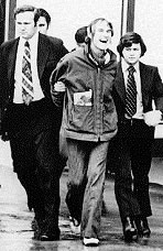 Timothy Leary under arrest by FBN agents
