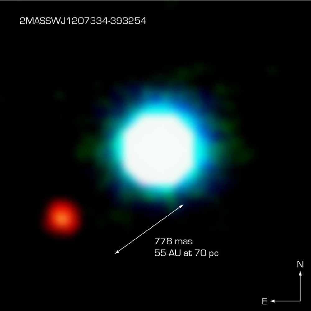 VLT Image of Intriguing Object near Young Brown Dwarf