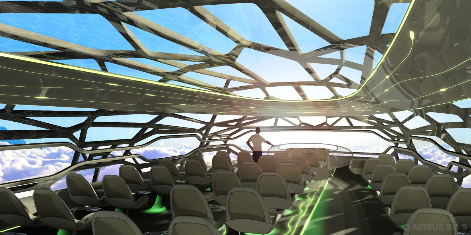 The future by Airbus - The Vitalising Zone by Day