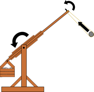 Trebuchet shooting