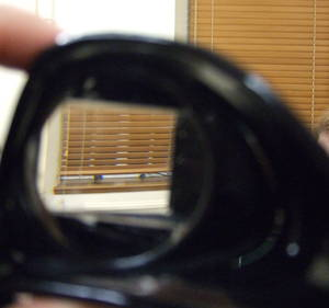 Through the prism goggles