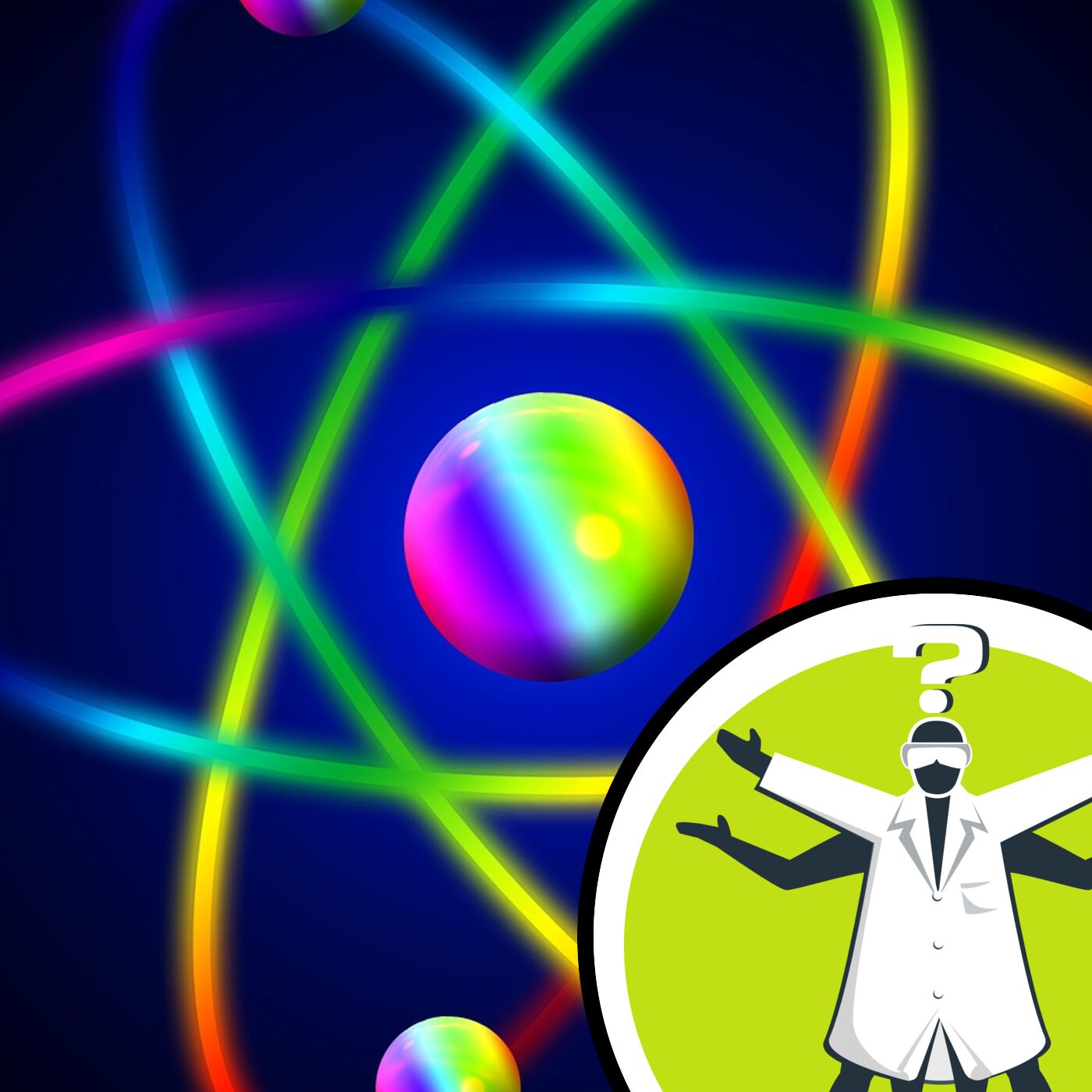 Why are electrons never in between orbitals?