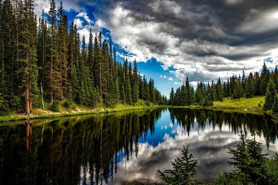 Lake Irene in Colorado.