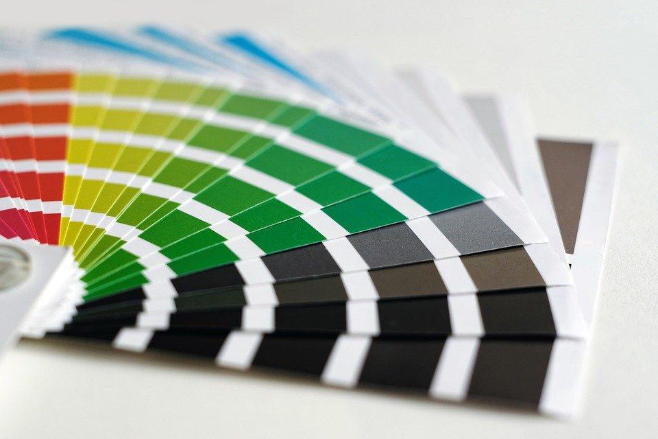 colour chart for paint