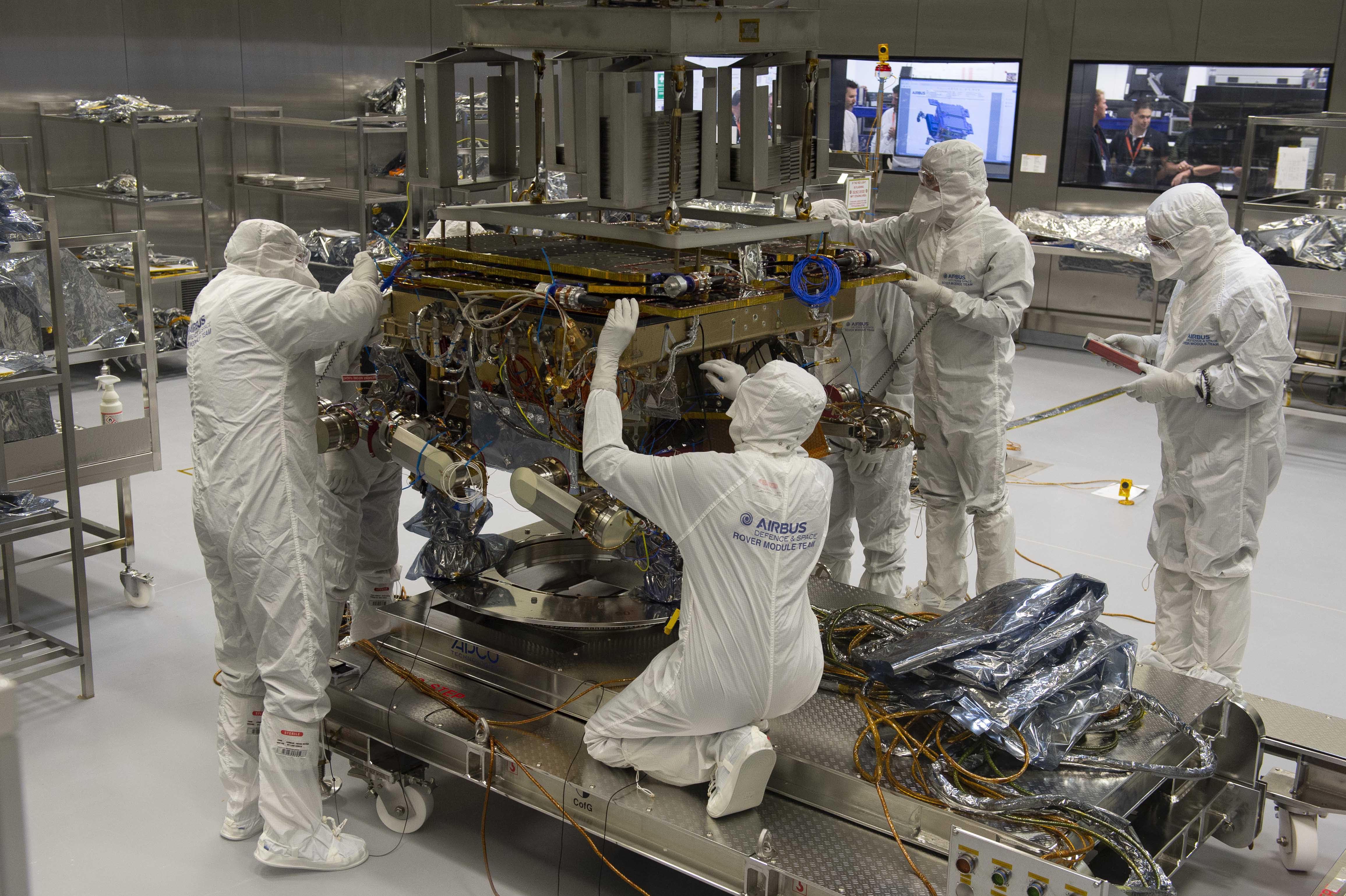 Assembling a Mars rover
