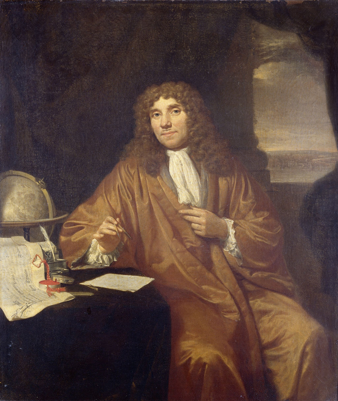 Anthonie van Leeuwenhoek (1632-1723), forefather of microbiology