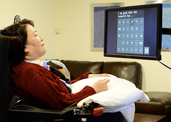 Brain computer interface helps paralysed people to communicate