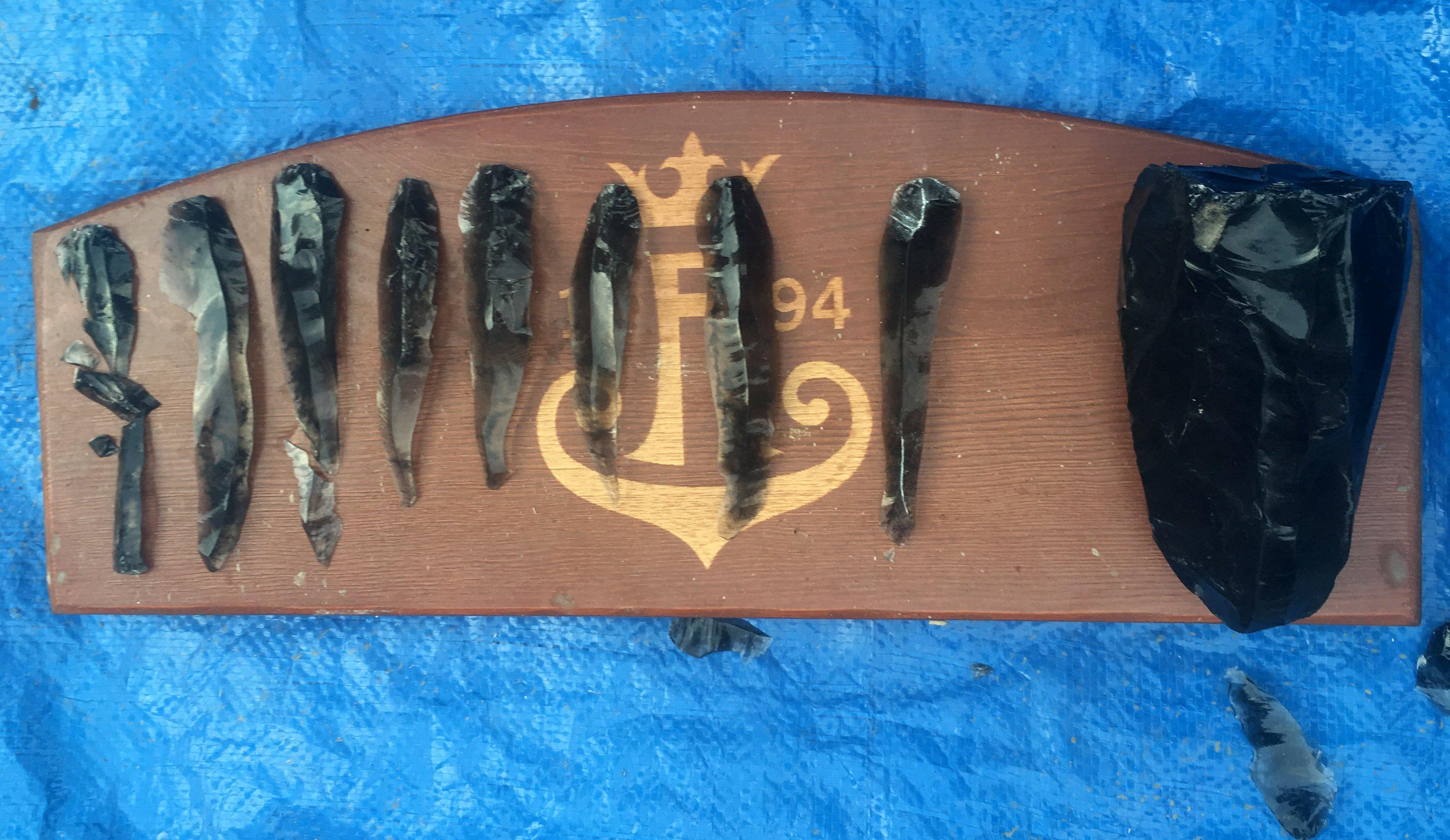 Obsidian tools