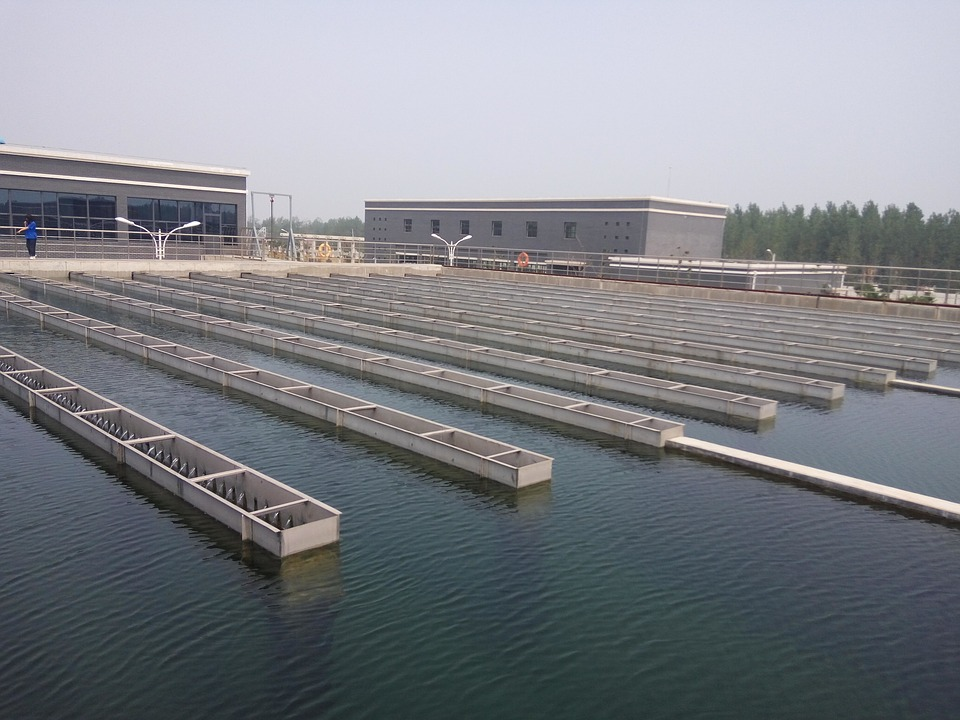 this is a picture of a water treatment site
