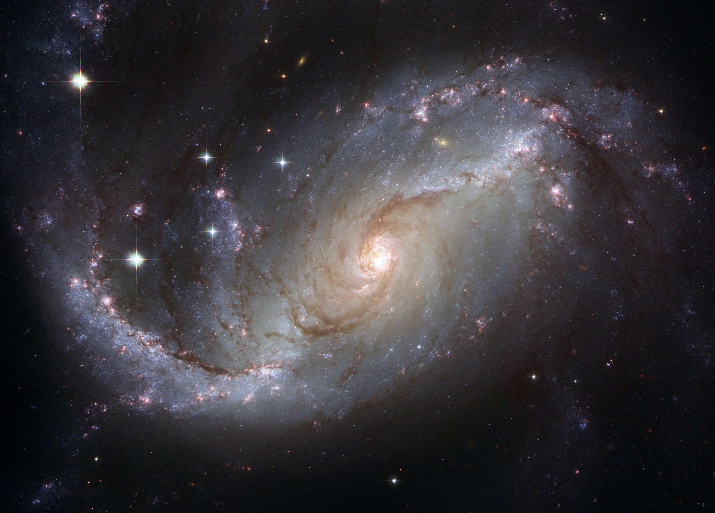 Artists impression of a black hole at the centre of a galaxy