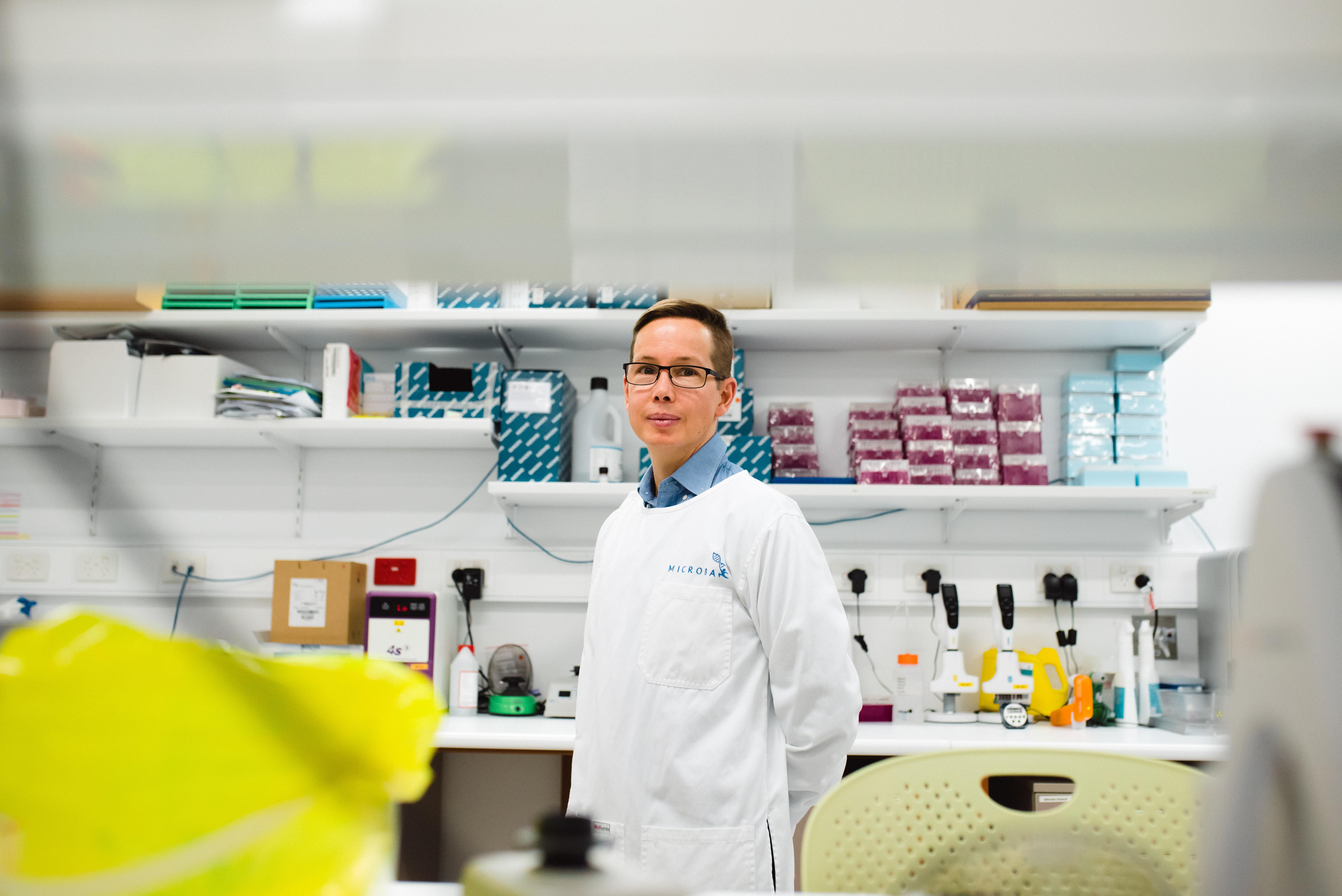 Microba co-founder Prof Gene Tyson
