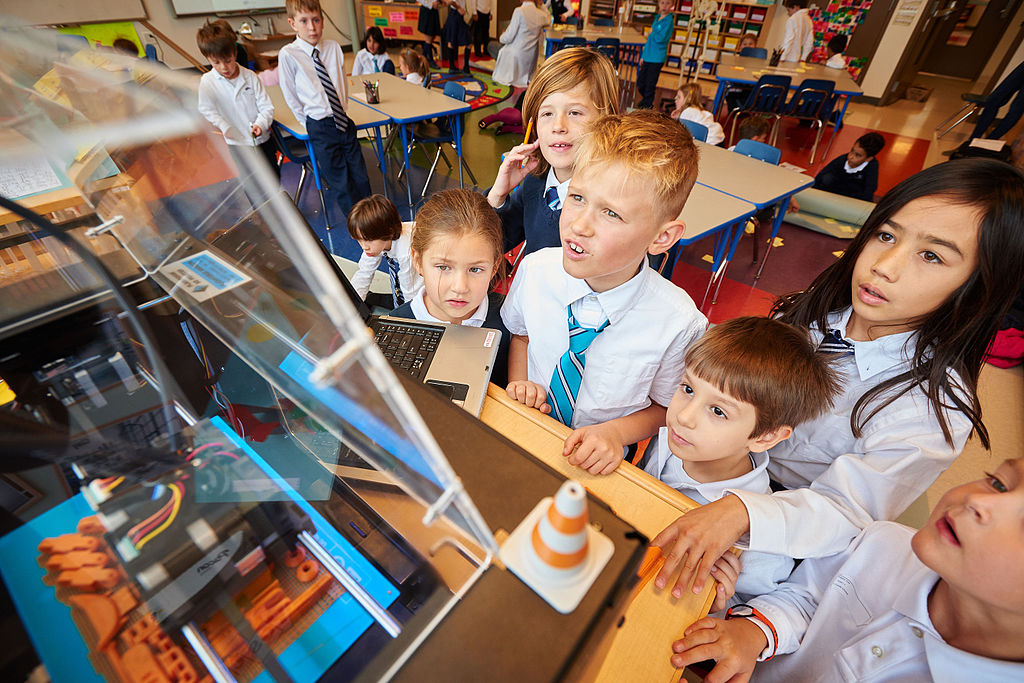 3D printer in school, maker movement, education