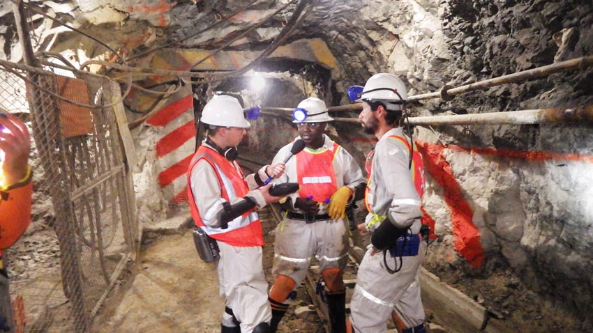 Chris Smith interviews microbiologist Kay Kuloyo who is looking for extreme bacteria living kilometres underground in gold mines